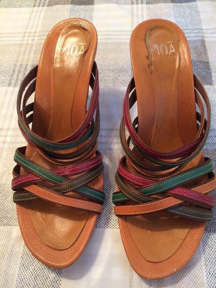 Sandalias Multicolores Italianas