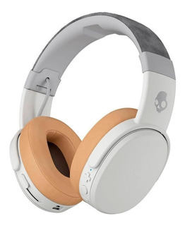 Audífonos inalámbricos Skullcandy Crusher Wireless gray y tan