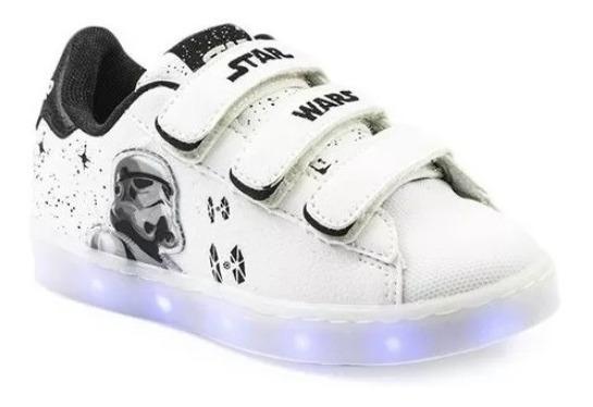 Zapatillas Addnice Luces Niños Star Wars 1040-40 Luminares