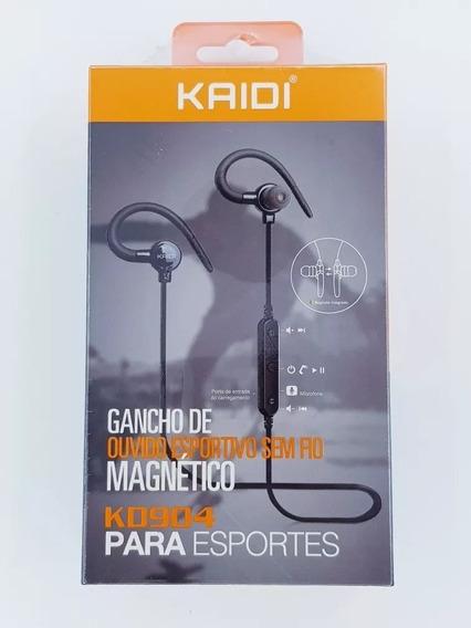 Fone Ouvido Bluetooth Academia Microfone Esporte Corrida 904