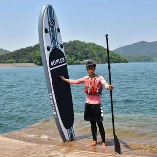Goplus 10 Pies Inflable Stand Up Paddle Board Con 3 Ale-8079