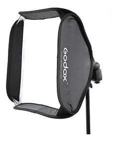 Softbox P/ Flash Speedligh 60x60 Universal Canon Nikon