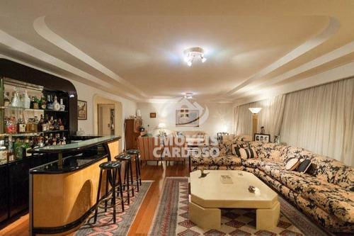 Imagem 1 de 10 de Apartamento Com 4 Dormitórios À Venda, 276 M² Por R$ 2.880.000 - Higienópolis - São Paulo/sp - Ap0629