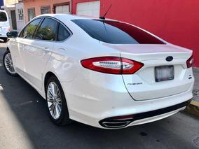 Ford Fusion 2.0 Se Luxury Plus L4//t At Navi Como Nuevo