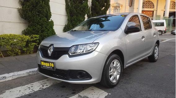 Renault Sandero 1.0 Flex A/c Troca Financio Sem Entrada 2015