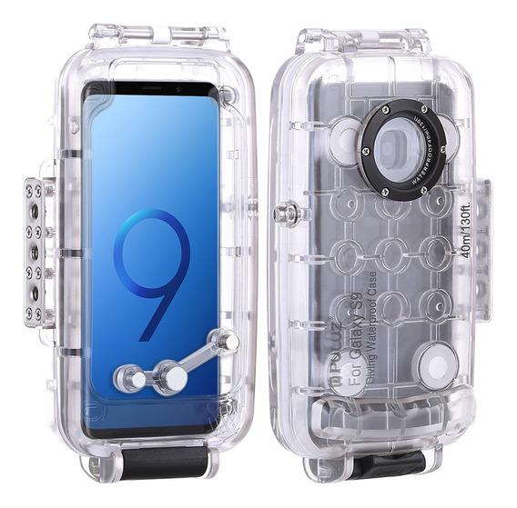 Puluz 40m/130ft Mergulho Impermeável Capa Smartphone Proteto