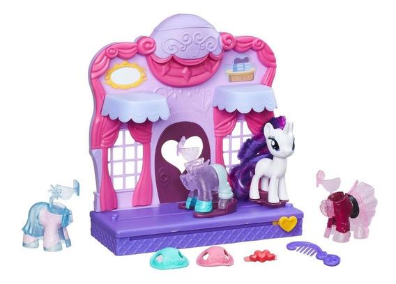 Conjunto My Little Pony Boutique De Moda - Rarity Hasbro