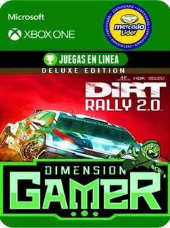 Dirt Rally 2.0 Deluxe - Xbox One - Modo Local + En Linea