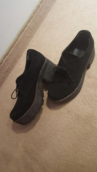 Zapato Mujer Con Taco Talle 35