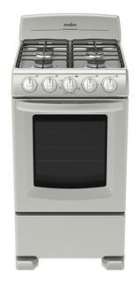 Estufa Mabe EM5030BAIS0 4 quemadores gas envasado plata mercury puerta visor