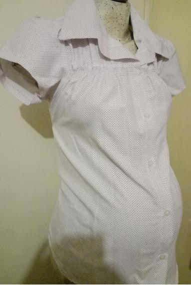 Blusa Camisa De Vestir Maternidad Casimir