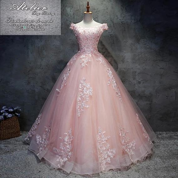 Soñador Vestido Quinceañera En Guayaquil Diseño Confección
