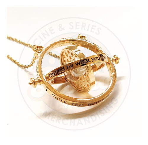 Collar Giratiempo Harry Potter / Hermione Time-turner Libria