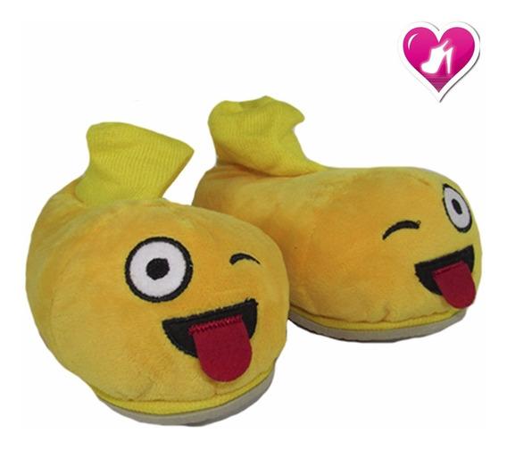 Pantufla Bebes Emoji Talles Chicos Del 24-33 De Shoes Bayres
