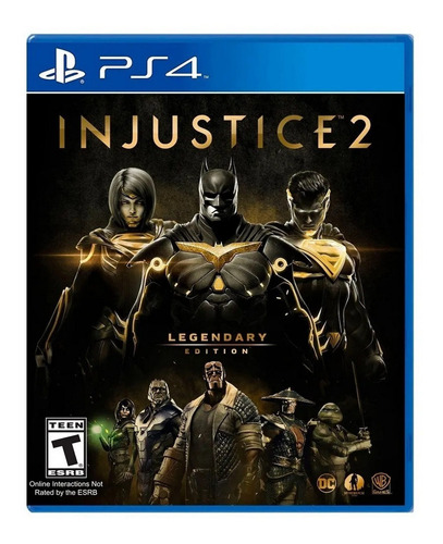 Injustice 2 Legendary Edition Formato Físico Ps4 Original