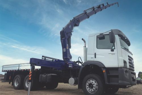 Caminhão Vw 26.280 2022 Com Guindaste Munck 45 Ton