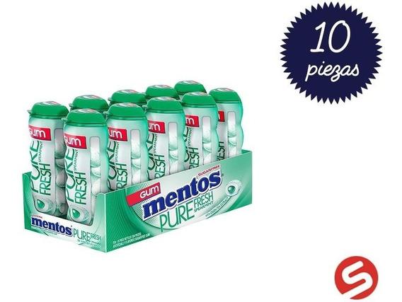 Mentos Gum Spearmint 10pzs/30grs