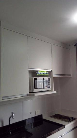 Studio Com 1 Dormitório Para Alugar, 36 M² Por - Vila Augusta - Guarulhos/sp - St0006