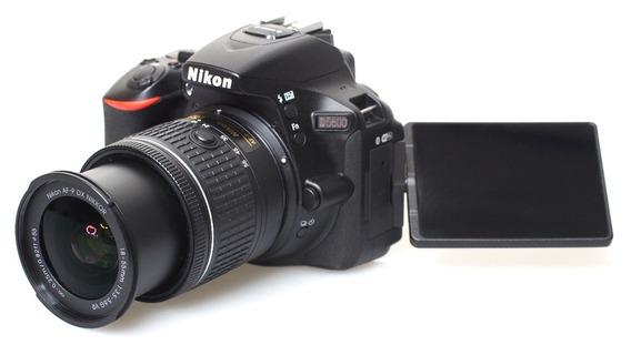 Camara Nikon D5600 Vr Kit Af-p Dx Nikkor 18-55mm F/3,5-5.6g.