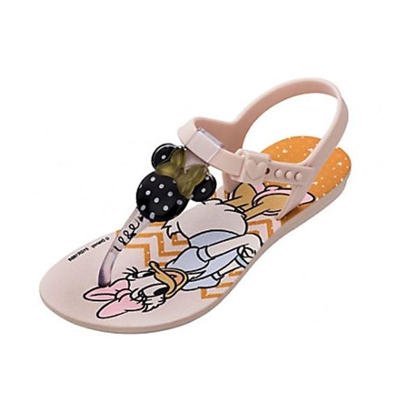 Sandália Infantil Grendene Kids Minnie Gold 009917