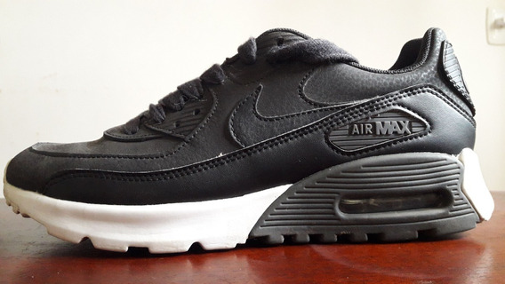 Zapatilla Nike Air Max 90 Cuero Negro