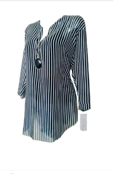 Blusas Bluson Elegante Mujer Talla S / 6xl Grande Plus Ofert