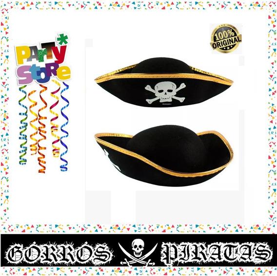 Party Store- Gorro Pirata Adulto - Cotillon Fiesta Fisfraz
