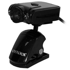 Webcam Satellite Wb-c10 Usb Com Microfone Integrado 5mp - Pr