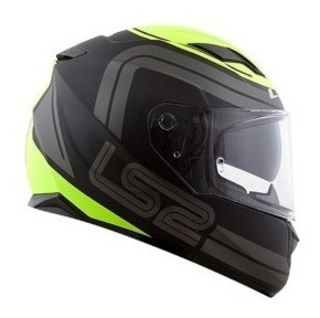 Capacete Ls2 Ff320 Stream Orbital Matte Black/gry/yellow