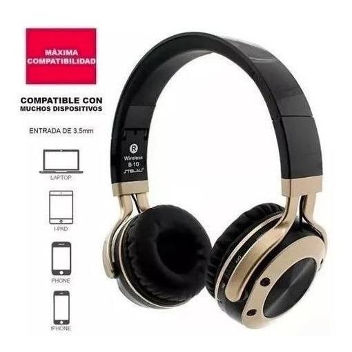 Fone/headset Wireless Bluetooth B-10 Bateria 8h-otimo Grave!
