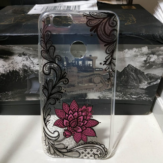 Capa Case Transparente Xiaomi Redmi Mi A1 Desenho De Flores