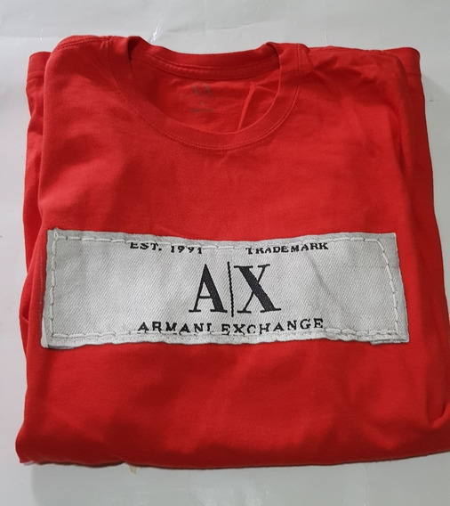 Remera Armani Exchange Ax Original Talle M
