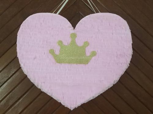 Imagen 1 de 2 de Piñatas Corazón Infantil. Cumpleaños. Allegracotillones.
