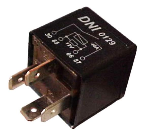 Relé Injeção Eletrônica 120007826 Gm 4 Terminais - Dni 0129