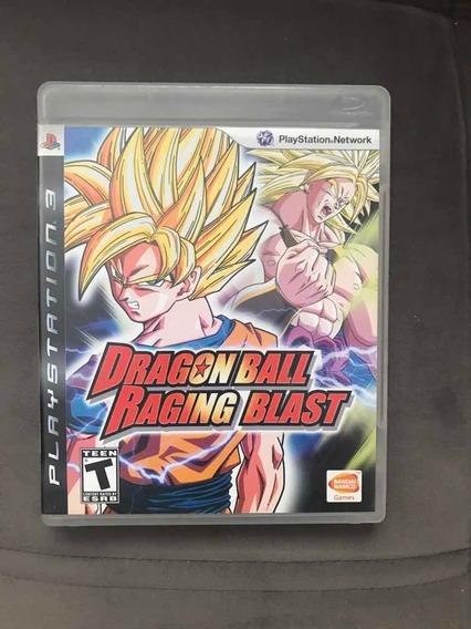 Dragon Ball-raging Blast Completo Ps3 Fisico