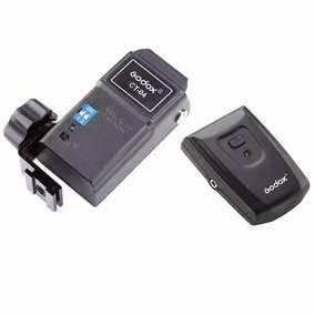 Kit Radio Flash Greika Godox Ct-04/ 4 Canais Canon Nikon