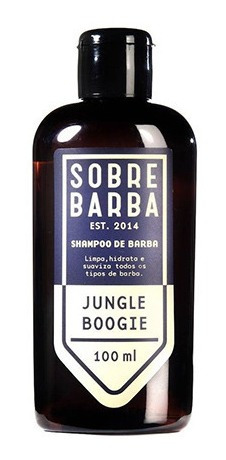 Shampoo De Barba Jungle Boogie Sobrebarba 100ml
