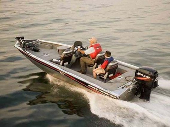 Bass Tracker Bote De Aluminio Lancha Pesca