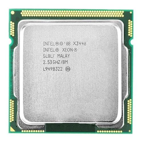 Processador Intel Xeon X3440 BV80605002517AQ de 4 núcleos e 2.5GHz de frequência