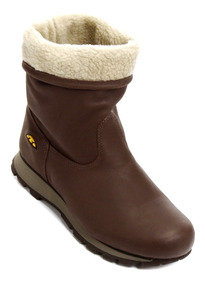 Bota Bull Terrier Snow Trail Lã - Feminina - Couro Legítimo
