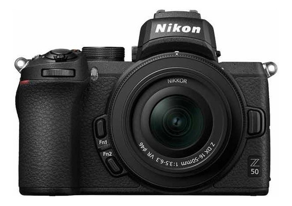 Nikon Mirrorless Z50 Kit 16-50mm + Adaptador Nikon Ftz
