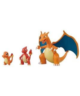 Kit De Modelado De Plástico Pokemon Evolution Charmander