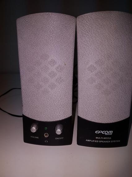 Caixa De Som Pc Multi-media Speaker System Epcom