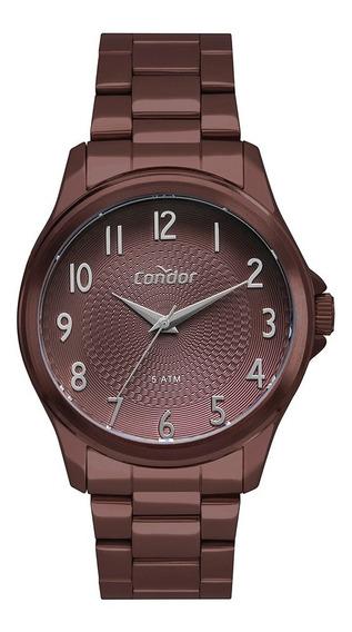 Relógio Condor Feminino Marrom Co2036mug/4m