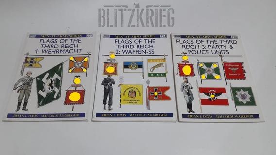 Livros Flags Of The Third Reich Segunda Guerra Ww2