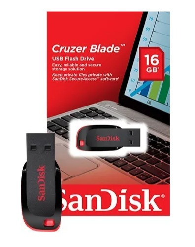 Kit 06 Pendrive Sandisk 16gb 100% Original