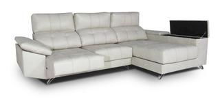 Sillon Sofa 3 Cuerpos Cuerotex Chaise Long Esquineros