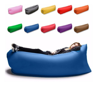 Lazy Bag Cama Sillon Inflable Playa Alberca Jardín /e