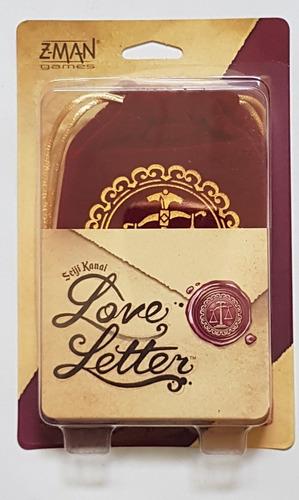 Love Letter Juego De Mesa / Boardgame Z Man Games Nuevo !!!