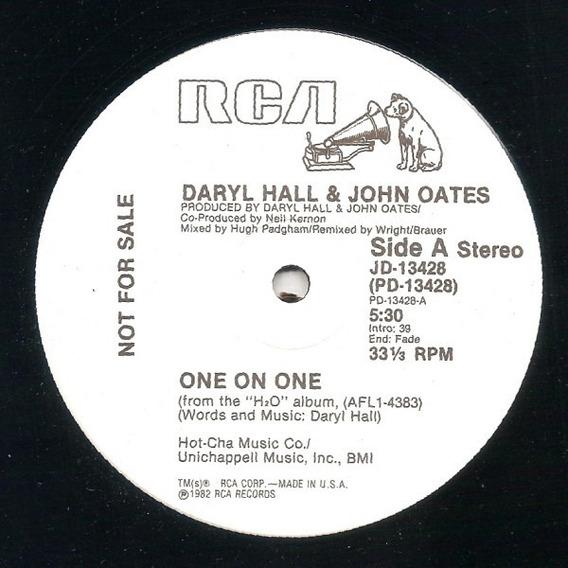 Daryl Hall & John Oates - One On One 12 Imp Us Promo 1982